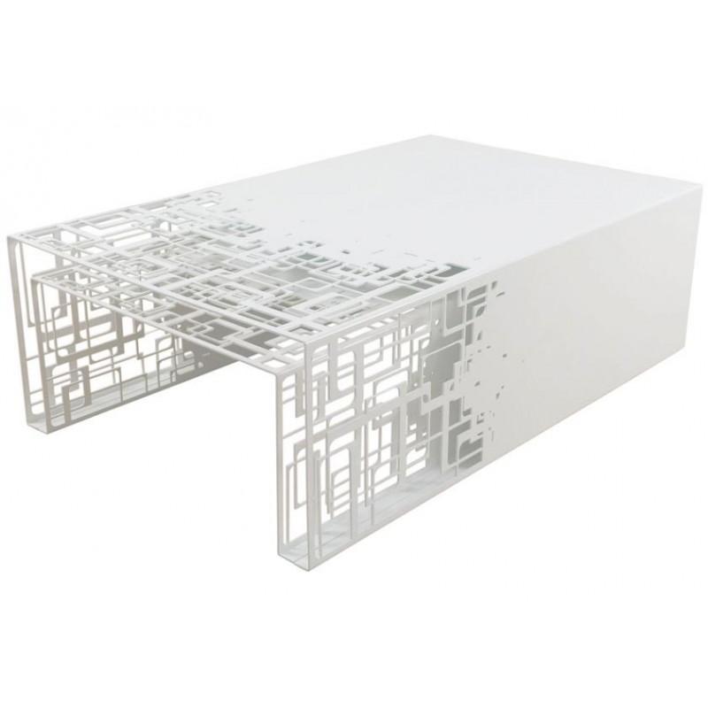design white nesting tables cubical