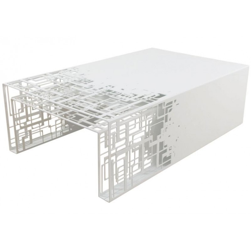 tables gigognes cubical blanches