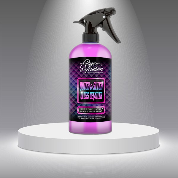 product spotlight quick detailer 500ml