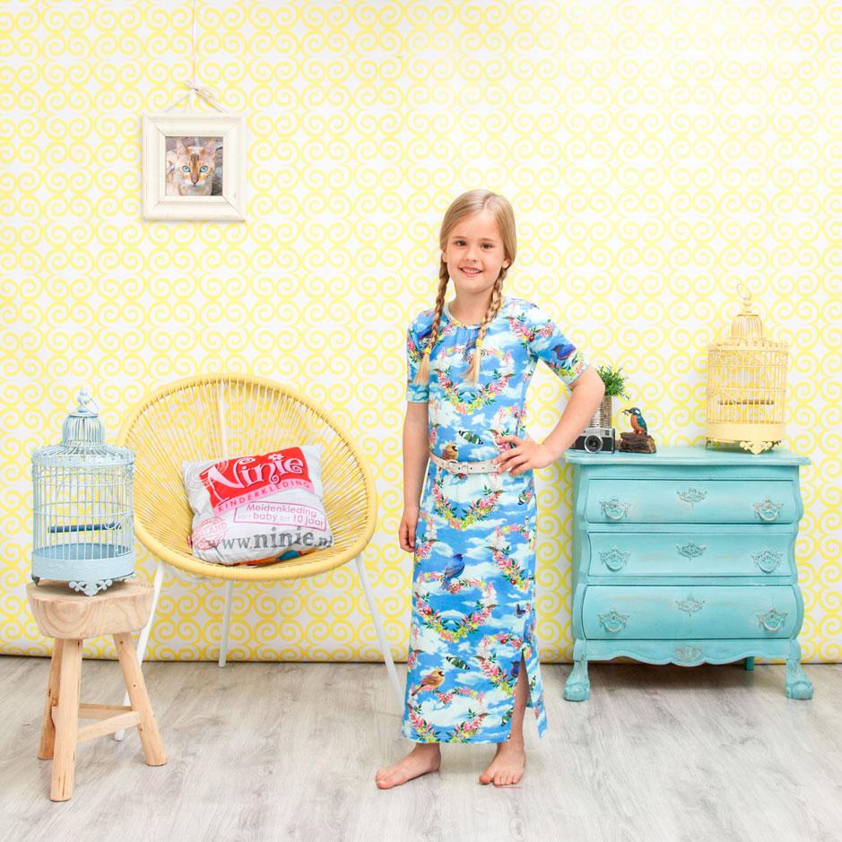 ninie kinderkleding maxi jurk shoot 8