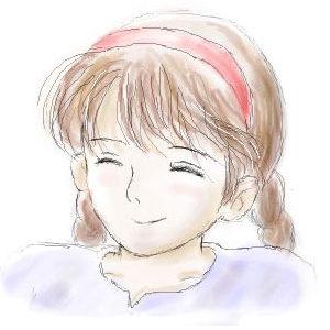 シータの笑顔