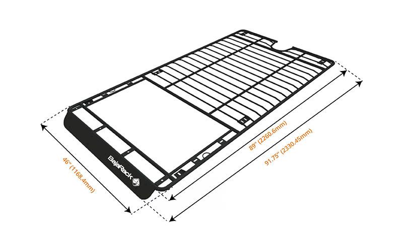 4Runner Gen 5 UTility (flat) Rack (sunroof cutout) 2010