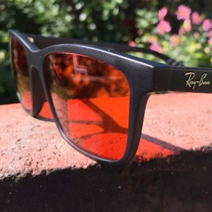 RA Optics Blue blocker glasses