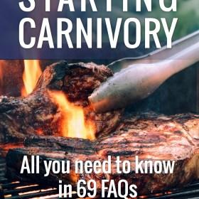 Starting Carnivory FAQ
