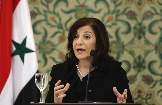 Anissa Makhlou, la mère de Bachar Al Assad
