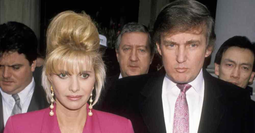 Donald Trump avec sa première Femme, Ivanka
