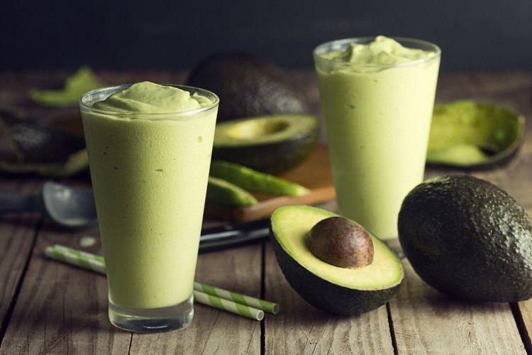 Avocado smoothie: Green Veggies