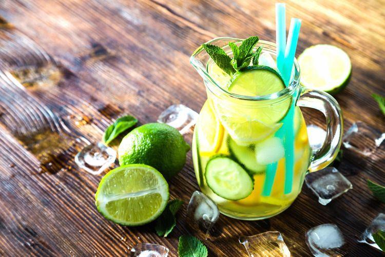 Detox Water: Citroen Komkommer