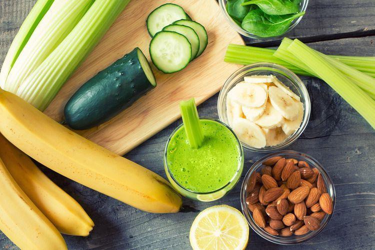 Groene smoothie met Selderij