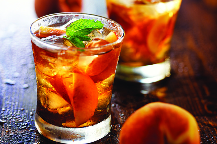 Perzik ijsthee: Peachy Fresh Tea