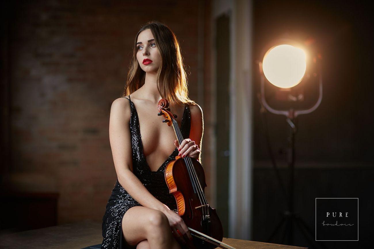 sensual, classy and elegant photo session