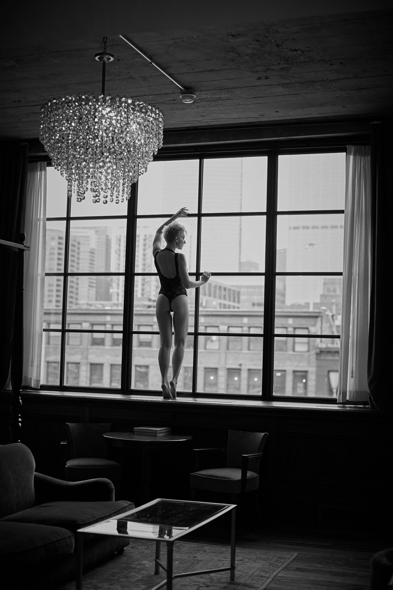 boudoir chicago soho house scaled - How to Choose a Perfect Location for Your Boudoir Session