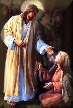 Jesus Heals Woman
