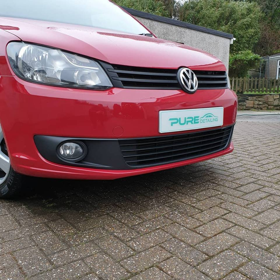 Volkswagen Caddy Valet by Pure Detailing Cornwall
