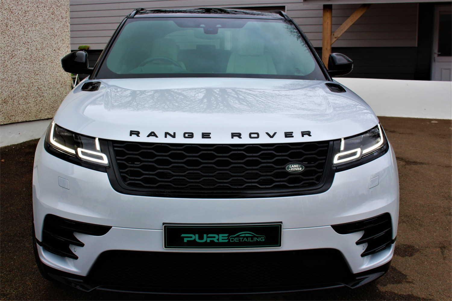 Range Rover Velar Valet by Pure Detailing Cornwall