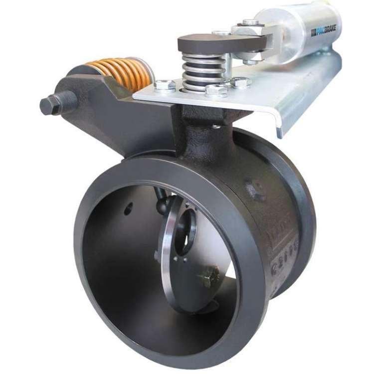 https puredieselpower com dodge products brake upgrades 2 exhaust brakes 2 5 9l cummins pacbrake inline 5in exhaust brake c44047 html