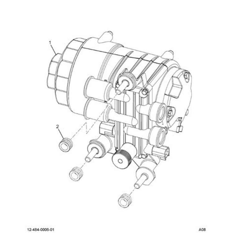 Ford 6C3Z 9G282 C 6.0L Powerstroke Frame Mounted Fuel Pump