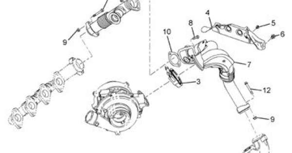 Ford 6.0L Powerstroke Factory Y-Pipe Hardware Kit 6