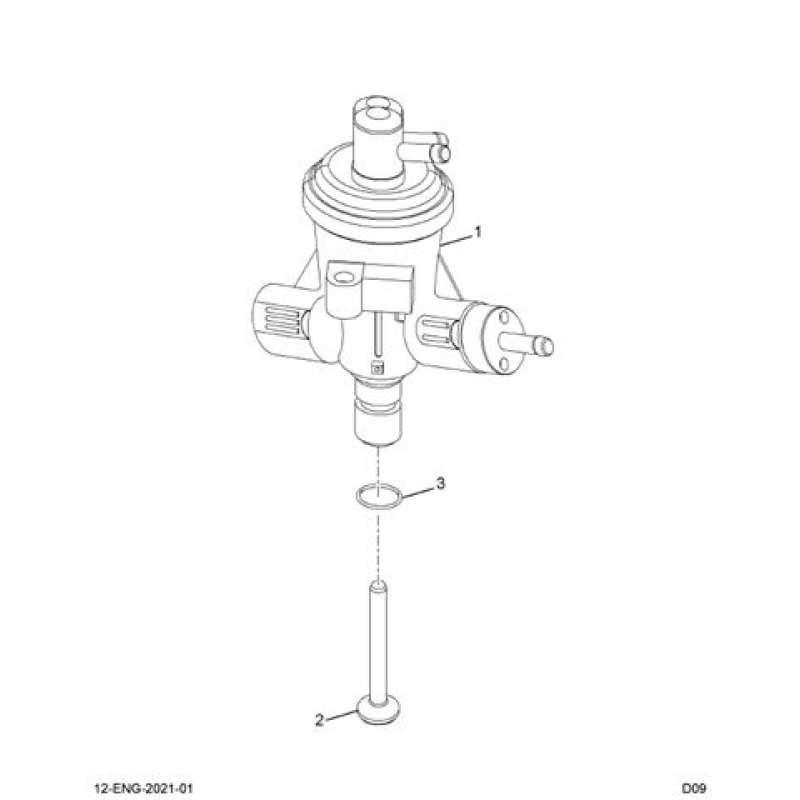 Ford 7.3L Powerstroke Diesel Fuel Transfer Pump Seal 1822708C1