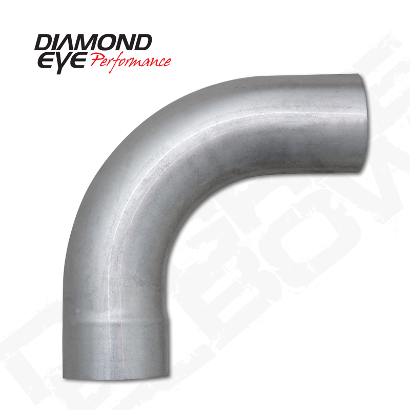 diamond eye 5 in stainless 90 exhaust elbow
