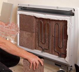 old inefficient storage heater