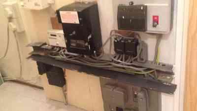 old electric fuse board glasgow