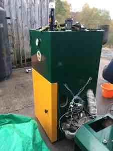 biomass boiler Scotland