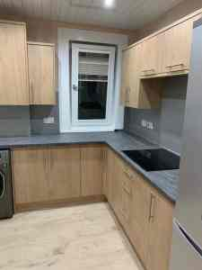 fully fitted kitchen Glasgow