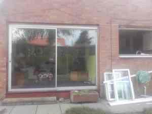 large double glazed window Glasgow