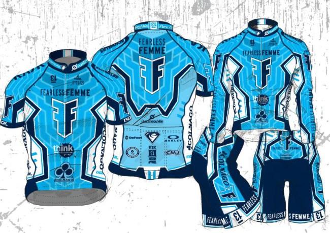2016 Fearless Femme Racing Kit