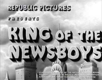 King of the Newsboys Credits