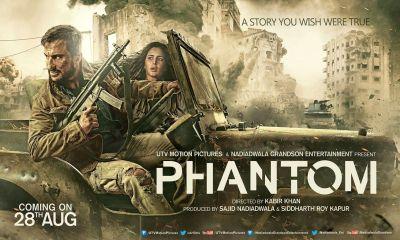 Phantom Official Trailer Saif Ali Khan Katrina Kaif
