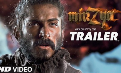 Mirzya Official Trailer Starring Harshvardhan Kapoor and Saiyami Kher