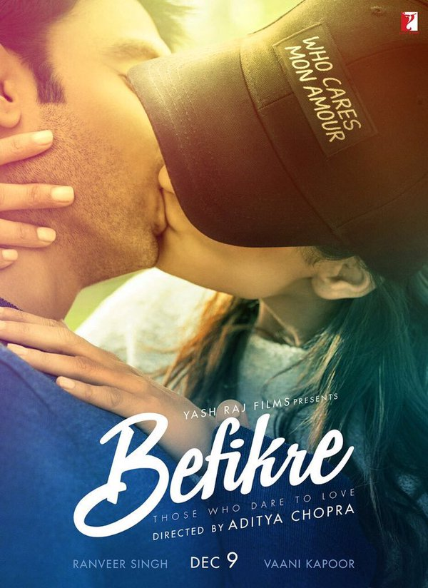 Befikre Official Poster Starring Ranveer Singh and Vaani Kapoor