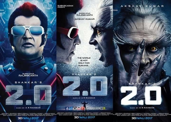 Rajinikanth, Akshay Kumar 2.0 First Look Poster, Official Teaser Launch