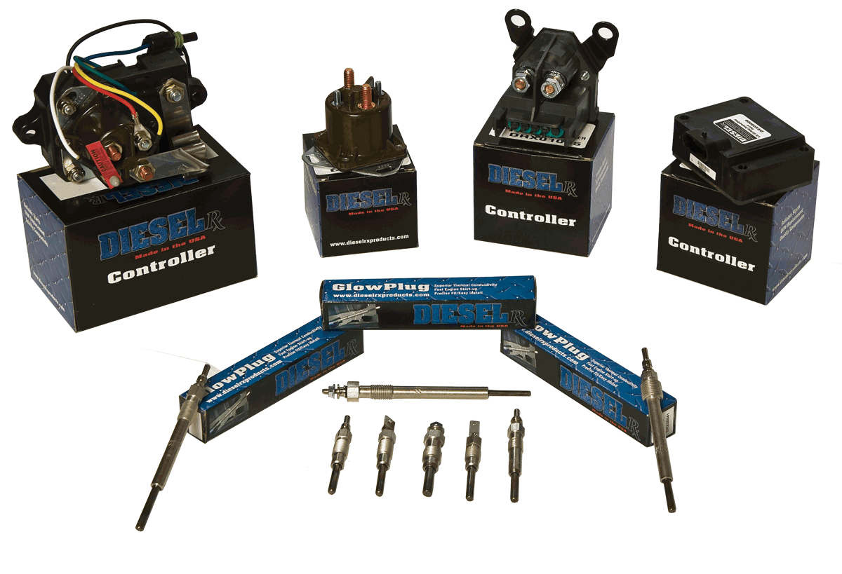 hight resolution of dieselrx manufactures and supplies the most rugged and dependable glow plugs and glow plug controllers for pick up trucks in the industry