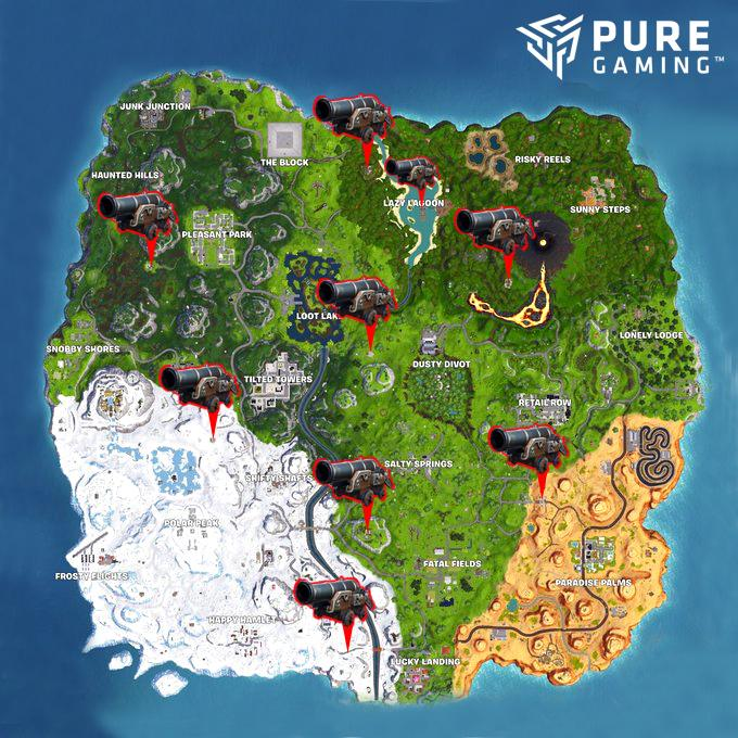 Fortnite Week 2 Challenges (Season 8) – Missions and locations