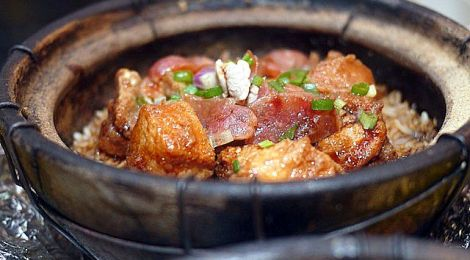 Comforting Claypot Chicken Rice @ LSY Pot, Puchong