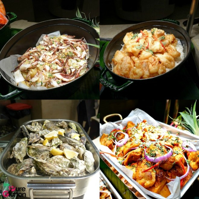 SEAFOOD BUFFET Collage