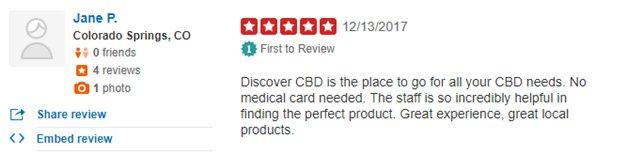 Discover CBD Review