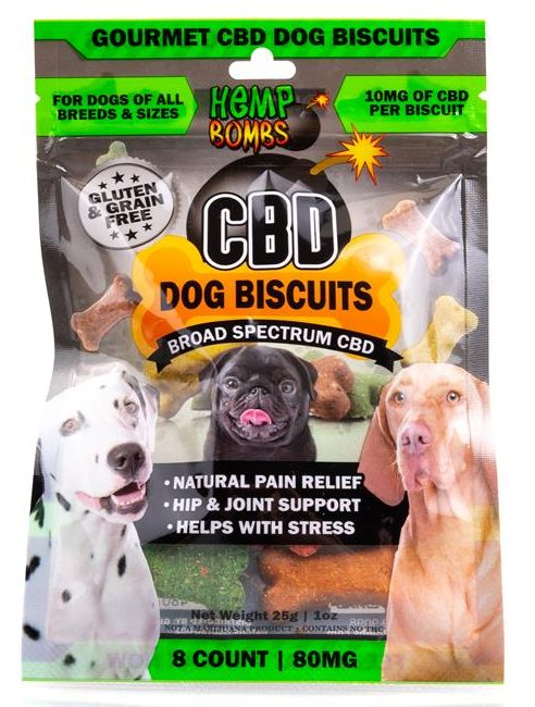 HempBombs CBD Dog Biscuits