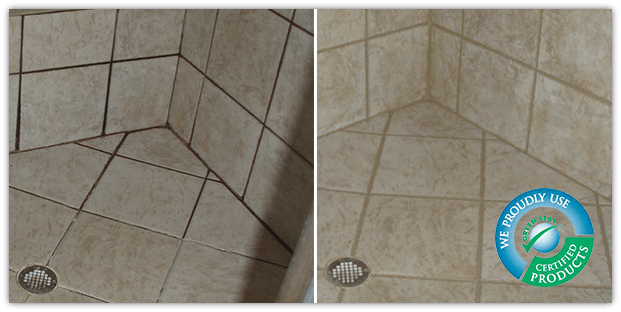 tile puregreen grout cleaning