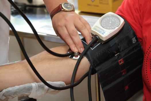 black and white blood pressure kit