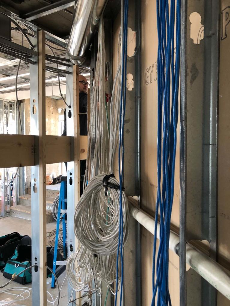 hight resolution of prewiring