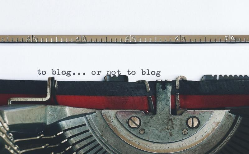 To blog... or not to blog