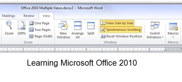 Microsoft Office 2010 Views
