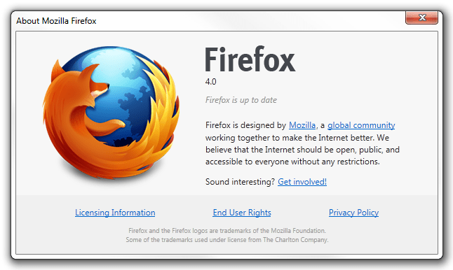 Firefox 4 RC1 has been released, download and update it now