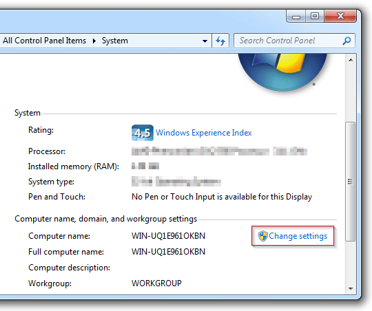 how to change your computer name in windows 7 � pureinfotech