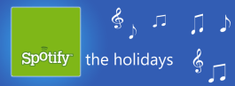 Spotify Christmas and New Year