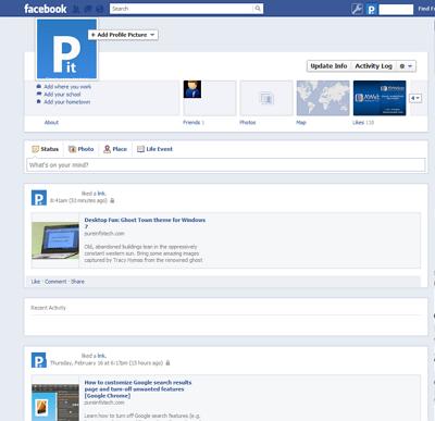 Facebook Timeline Get rid of